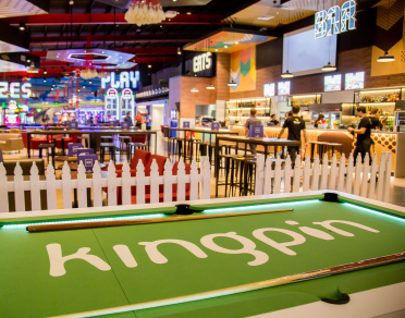 Kingpin Family Entertainment Centre banner